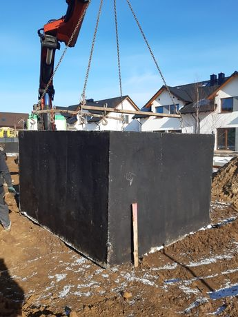 Szamba betonowe zbiorniki na deszczówkę