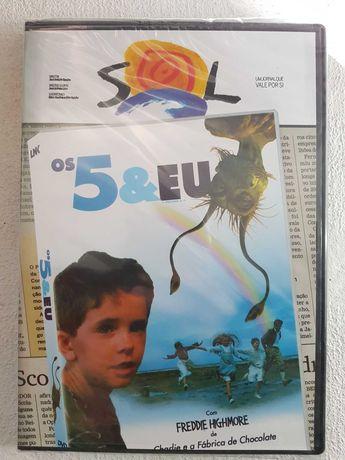 Os 5 e Eu - DVD - Selado