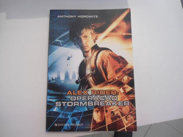 Alex Raider-Operação Stormbreaker por Anthony Horowitz