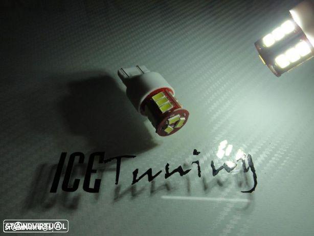 Led CAN BUS T20 / 7443 21/5W 2 Polos Branco 3W, 360 LUMENS 12V-24V LED SAMSUNG