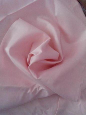Отрез ткани шелк розовый