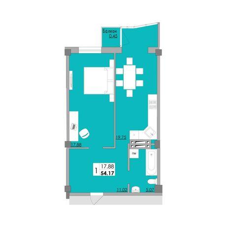 Шикарная планировка в новом доме на Затонского 28