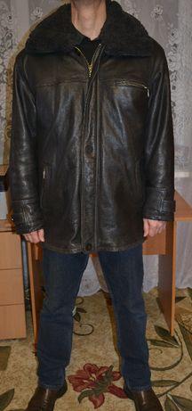 Кожаная куртка мужская осень - зима