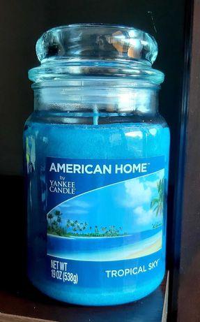 Świeca Yankee Candle - Tropical Sky, 538g (duża) - przesyłka 1 zł