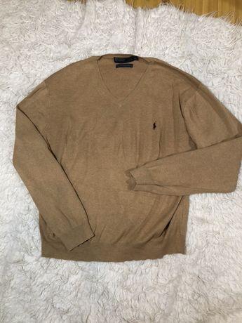 Sweter Polo Ralph Lauren rozmiar XL beżowy