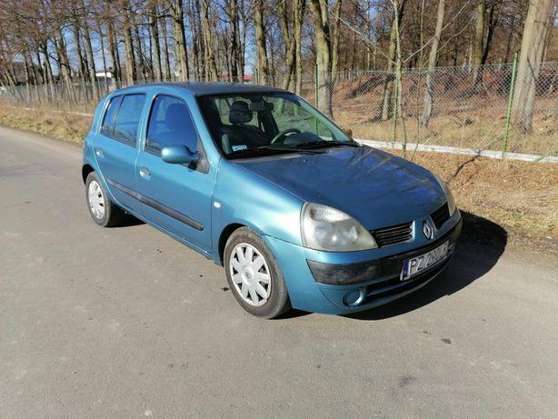 Renault Clio 1,4. Niski przebieg. 2004 rok. Klima. Zarejestrowane