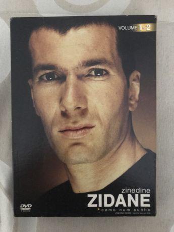 "DVD Duplo ""Zinedine Zidane - Como num sonho"""