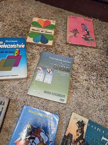 Stare książki podręczniki
