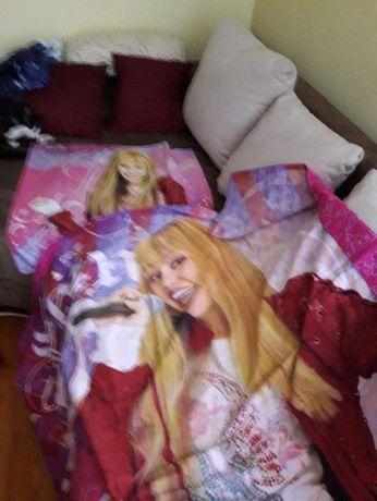 Pościel z Hannah Montana.