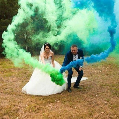 Цветные димшашки. Цветной дым. Кольоровий дим.