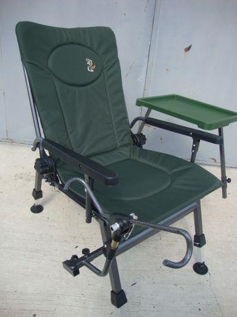 Карповое кресло в наличии Elektrostatyk с столиком F5R STP