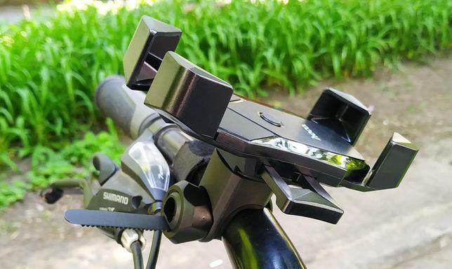 Мощный велодержатель телефона на руль велосипеда самоката скутера