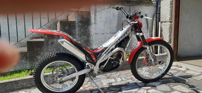moto de trial gas gas