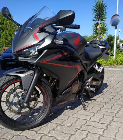 Vendo mota Honda CBR 500R como nova