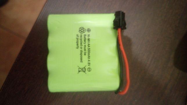 Akumulator auto RC 4.8v.