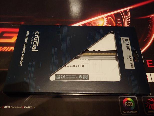 Crucial 16 GB 2x8GB DDR4 3600 MHz CL16 Ballistix Black BL2K8G36C16U4W