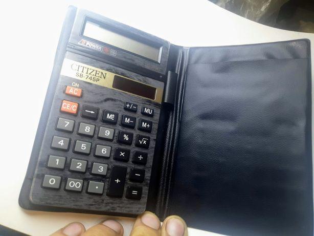 Калькулятор Citizen SB-745P 10-разрядный Солнечная батарея japan oem