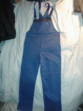 NOWE spodnie trudnopalne ogrodniczki BASOFIL roz 56