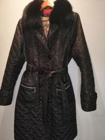 Демисезонное пальто, размер 48