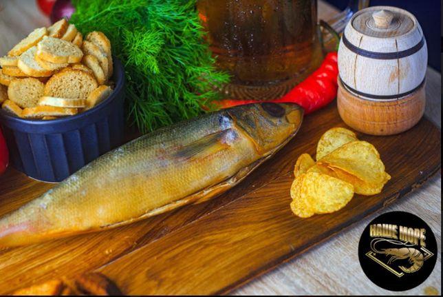 Рыба копченая: красноглазка/ вомер/ окунь\ пелингас...