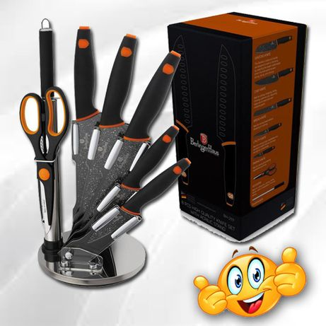 Набор ножей «Granit Diamond Line black» 8 предметов