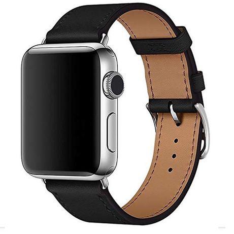 Ремешок из натуральной кожи для Apple Watch 38/40/42/44 mm мм