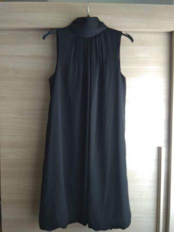 Vestido preto Zara usado uma vez