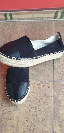 Buty  czarne Topshop