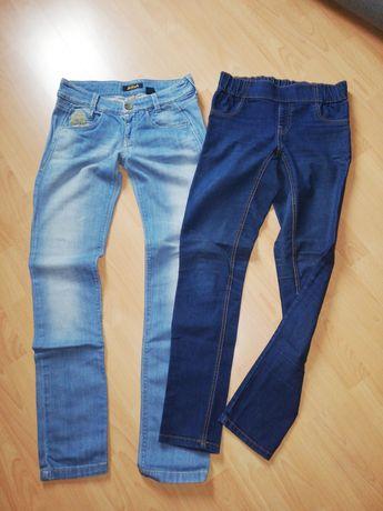 Spodnie damskie, jeansy 38