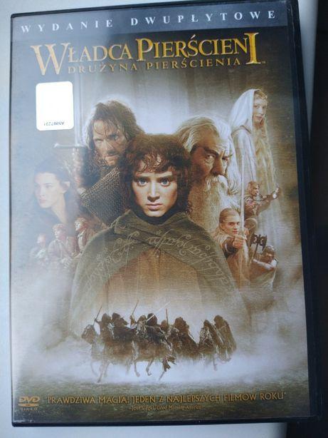 Władca Pierścieni: Drużyna Pierścienia edycja dwupłytowa dvd