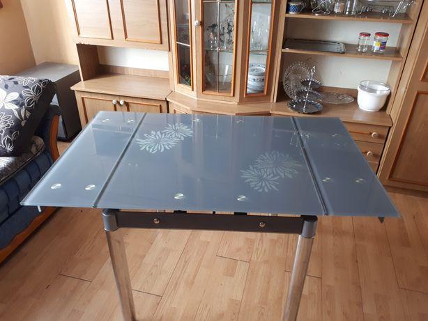 Stół szklany kuchenny