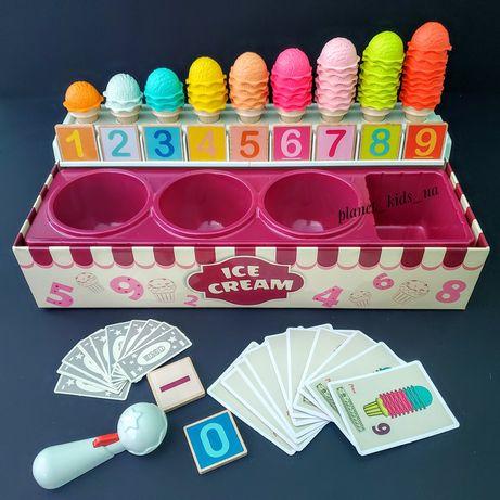 Игровой набор для счета и сортировки Магазин Мороженого Top Bright