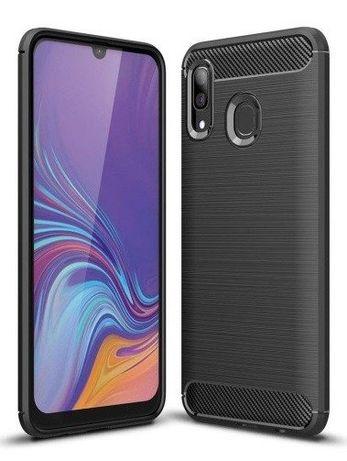 Pokrowiec Etui Samsung Galaxy A10 A20e A20 A40 A50 A70 Carbon Silikon