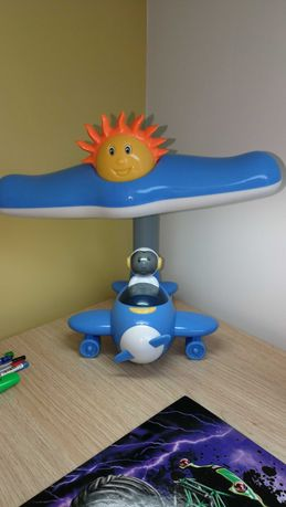 Lampka nocna na biurko samolot