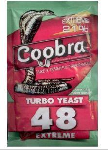 Drożdże Gorzelnicze COOBRA 48 TURBO EXTREM