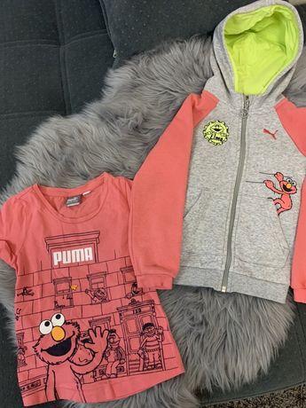 Puma Bluza~t-shirt~komplet r.104