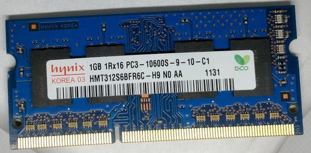 So-dimm 1G Hynix 1 gb ddr3 ОЗУ оперативная память для ноутбука