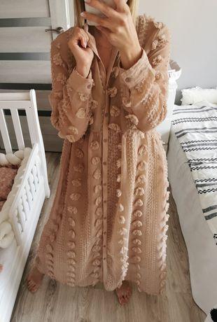 Długa sukienka 3d
