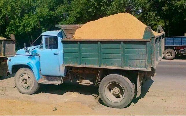 Щебень, песок, отсев, цемент ДОСТАВКА