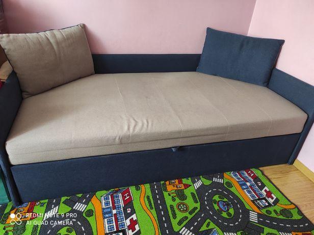 Sofa rozkładana 2osobowa, łóżko piętrowe
