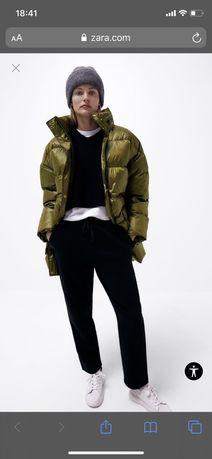 Зимняя куртка Zara Зара демисезонная еврозима
