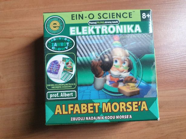 prof. Albert Elektronika alfabet Morse'a Morsa - zabawka edukacyjna