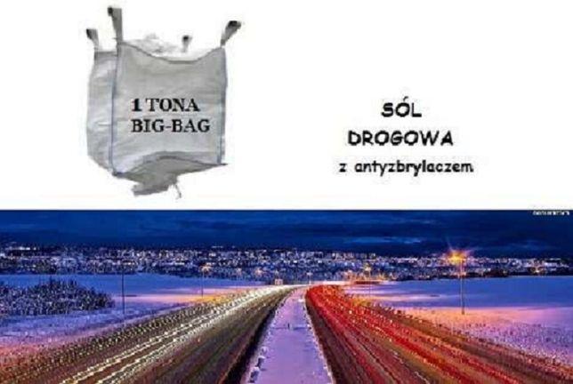 Sól drogowa worki big-bag 1 tona/ 345,00 zł netto