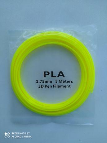Заправка для 3D ручки PLA пластик 5 метров