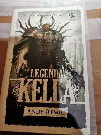 "Andy Remic "" Legenda Kella"""