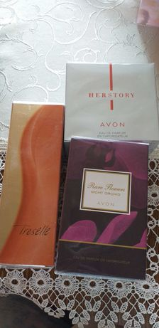 Wody Perfumy avon Treselle, Her Story, Rare Flowers 50 ml