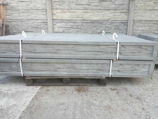 Podmurówki betonowe panel siatka podmurówka systemowa płot