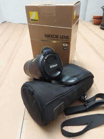 Lente Nikon AF-S Nikkor 70-200mm 2.8 ED VR II