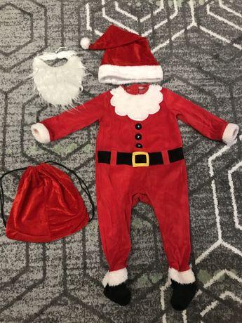 Костюм для ребенка Деда Мороза р 92