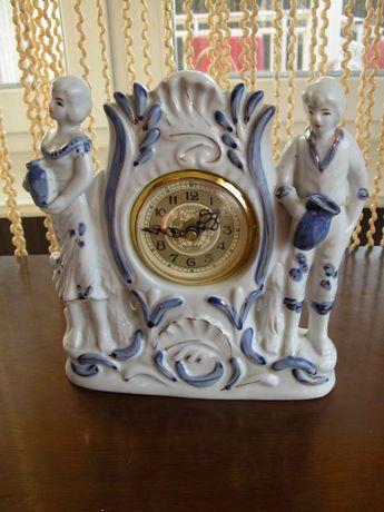 porcelanowy zegar